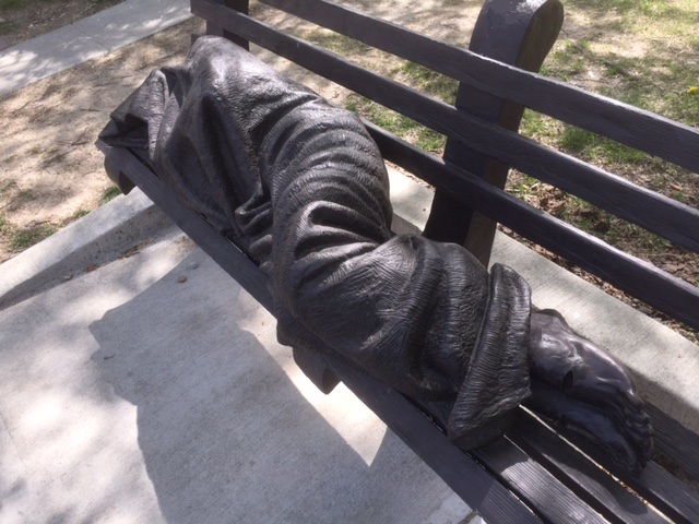 Homeless Jesus 4-18-17 B