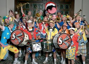 Clown Band A crop